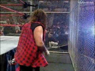 Triple H vs. Cactus Jack WWE No Way Out 2000