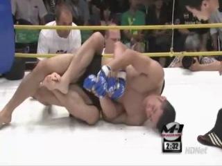 Один из лучших поединков грэплеров в MMA