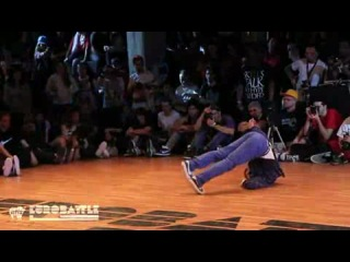 Bboy Bruce Almighty (Momentum Crew) Judge Demo - Eurobattle 2011 - Porto, Portugal