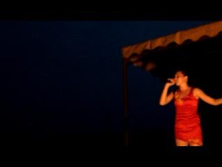 Гульнара-Арслан в Енапаево на концерте Мунира Рахмаева и др.