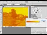 Видеоурок №61. 4 блок (инверсия, постеризация, порог, карта градиента, выборочная коррекция цвета)