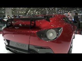 2013 Aston Martin Zagato V12 2012 Geneva