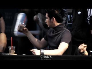 [FANCAM]130525 | Yongsan Fansign @ Chansung