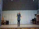 выступление Басовой Виолетты песня