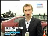 Страшная авария на Сортировочном мосту: автомобиль разорвало на части, водитель погиб на месте