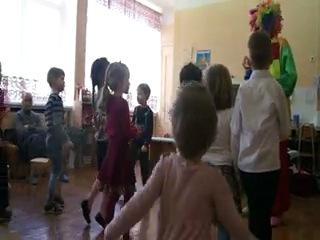 День Рождения с Клоуном в детском садике!:)