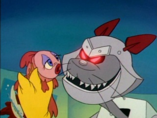 Чип и Дейл спешат на помощь 2 сезон 17 серия. Робокот / Robocat