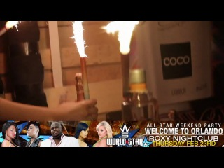Wshh allstar weekend pt.1 club roxy hosted by cubana lust, erica from bad girls and q
