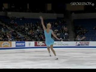Гран-при. Skate America. Женщины. Короткая программа. Ксения Макарова