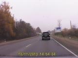 Сразу два ДТП + гайцы тормознули машину.Одно ДТП с участием ГБР
