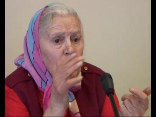 Пресс-конференция монастырской травницы-Елены Зайцевой.