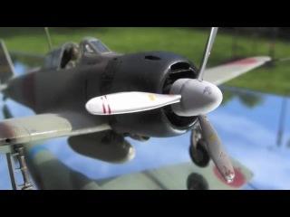 Tamiya- 148 scale-Mitsubishi A6M3 Zero (hamp)- plasitc model
