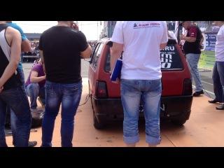 автозвук 2013 самая жесткая тачка Омска 157,9 дицибел