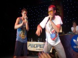 Bee Low and Artur - Beatbox freestyle on UA beatbox championship 2013