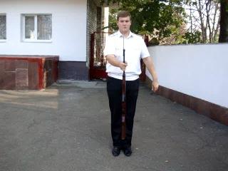 Упражнения которые выполняет Президентский Полк с СКС ( Самозарядный Карабин Симонова )