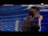 Х-фактор - Революция Владислав Курасов. Седьмой прямой эфир. Песня за жизнь