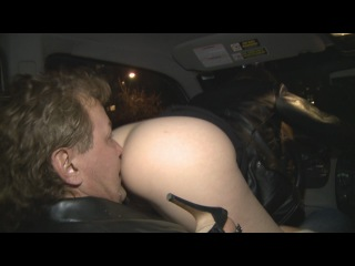 ClubStiletto: Drivers Seat Ass Cleaning