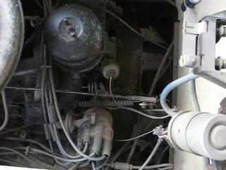 Работа двигателя ЗиЛ-509(375) на ЛиАЗ-677