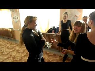 Мы поздравляли Оксану Валерьевну и Катю:)