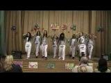 танец хип-хопа девочек из 5-х классов!