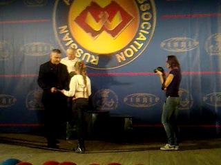 Чемпионат России среди вузов 2012 награждение