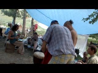 Сейшн с прекрасными ребятами из Чехии (кларнет), Art-Labyrinth Summer Festival 2013