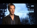 """Star Trek: Benedict Cumberbatch does French 'Beam Me Up Scotty' impression"""