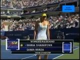 Maria Sharapova vs Sania Mirza 2005 US Open Highlights