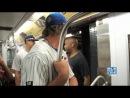Promo Subway Series Yankees vs Mets - 2 питчера на метро =)