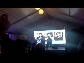 Отрывок из конвенции с Шеннен, Холли и Брайаном с Oz Comic Con в Австралии 2013