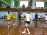 Лутугино:Стаханов . Соревнования по волейболу. Лутугино победило Стаханов,2:0