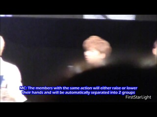 [eng sub] 130824 live event in japan real 100% physical strength game part 1