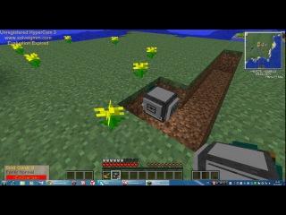 Запуск черепахи в Майинкрафте