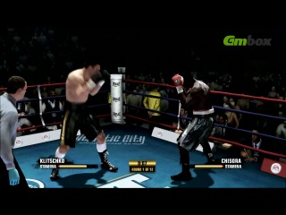 Бой Кличко — Чисора по версии Fight Night Champion и Gmbox.ru