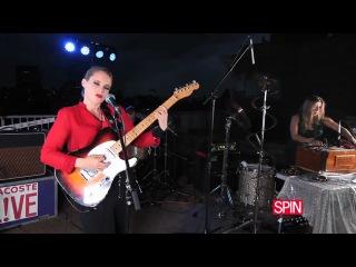 Anna Calvi Rocks SPIN's Rooftop! - Surrender