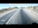 авария в Валуйках Yamaha - КаМаз