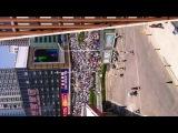 Китайский марш миллионов из окна отеля)