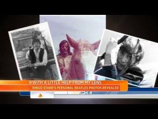 Большое интервью Ринго Старра в Today Show на канале NBC.