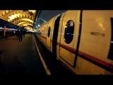 Зацепер между вагонами поезда Сапсан...о_О