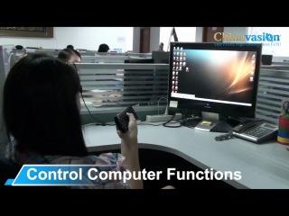 Беспроводная мини QWERTY клавиатура / мышь для управления Android TV Boxes, PC, Mac