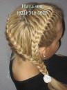 ...далее - смотри фото различных кос и видео уроки по плетению косичек и.