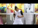 Неймар танцует Neymar dançando ai se eu te pego !