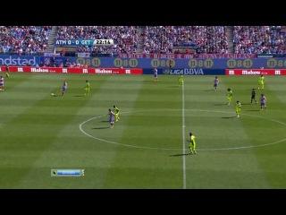 Чемпионат Испании 2011-12 / 31-й тур / Атлетико Мадрид - Хетафе / НТВ+
