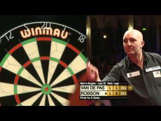 Gary Robson vs Benito van de Pas (Winmau World Masters 2013 / Last 32)