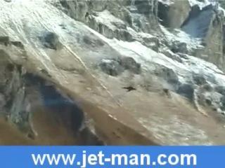 Ив Росси. Человек-крыло. Yves Rossy Jetman