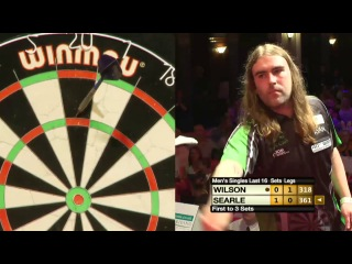 James Wilson vs Ryan Searle (Winmau World Masters 2013 / Last 16)