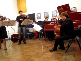 Арканджело Корелли.Трио-соната для 2-х скрипок и basso continuo до мажор,ор3№8.