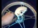 тормозной барабан на забнем колесе сломался