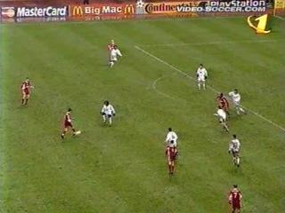 Лига чемпионов УЕФА 1998/1999.Спартак (Москва,Россия) 2:1 Реал(Мадрид,Испания). 0:1. Рауль,64;1:1. Цымбаларь,72;2:1. Титов,77.