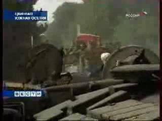 Чеченский спецназ уничтожает грузинские войска